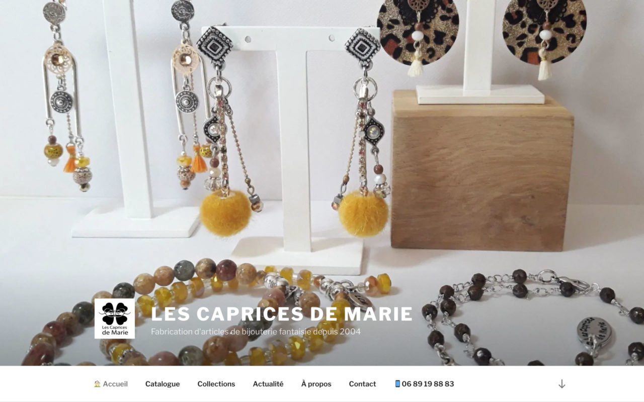 www.lescapricesdemarie.com